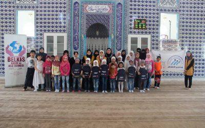 توزيع حقائب مدرسية وقرطاسية على الطلاب المستهدفين في غازي عنتاب.