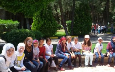 مقتطفات من الرحلة المشتركة بين اطفال سوريين واتراك الى حديقة الحيوانات