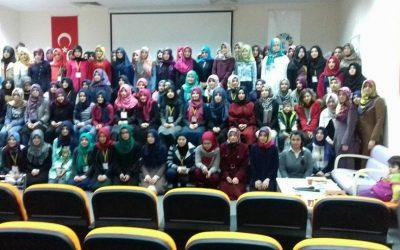 مشاركة وفد طلابي من المكتب الطلابي لمنبر الشام في الملتقى الطلابي الرابع