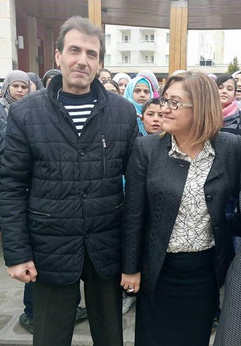 زيارة وفد السيدة فاطمة شاهين لمدرسة منبر الشام