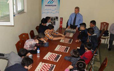 الأسبوع الثاني من دورة المبادئ اﻻساسية في لعبة الشطرنج